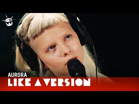Aurora's cover of 'Teardrop'