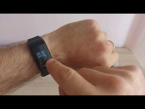 Bracciale Fitness con Pressione Arteriosa/Ossimetro LaTEC per Android e iPhone Smartphones
