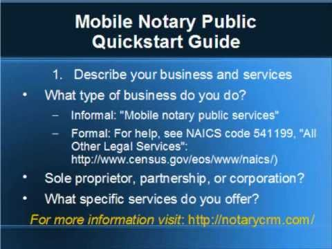 Mobile Notary Public Quickstart Guide 2 Write a Business Plan
