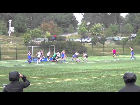 Rachel Crain Goal 1 vs. Sweet Briar - 9/21/13