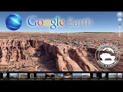 Creating Overland Routes in Google Earth