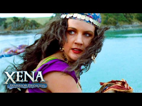 Xena and Gabrielle Against Poseidon | Xena: Warrior Princess