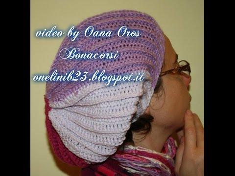 basco lungo (slouchy hat) prima parte
