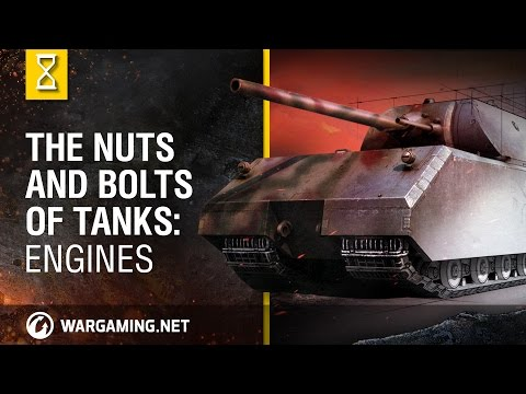 Nuts - Why were tractor engines rarely used in tanks? Is it true that a diesel engine is safer than a gasoline one? What tank engine is the most advanced nowadays? You will find answers to these questions...