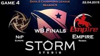 Empire vs NIP, game 4