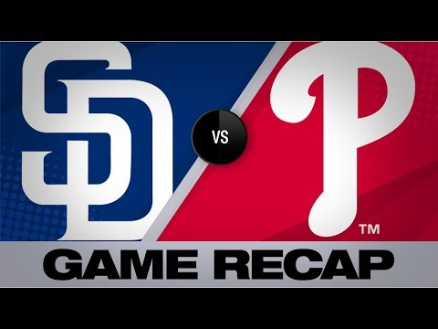 Video: Harper, Realmuto spark Phillies in 8-4 win | Padres-Phillies Game Highlights 8/16/19