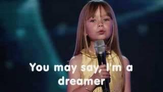 Connie Talbot - Imagine (With lyrics)