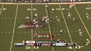 Mohamed Sanu vs Louisville 2011
