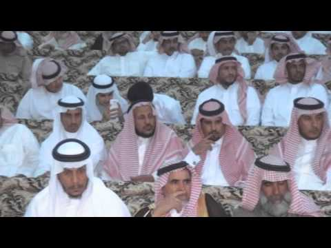 حفل قبيلة العوامرة من جهينه لابنهم حامد بن مصلح العامري الجهني .البرنامج الخطابي