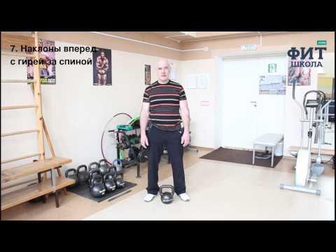 Отличный комплекс упражнений с гирей от мастера