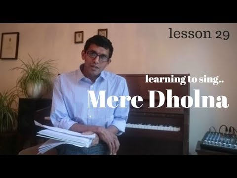 Video Learning to sing