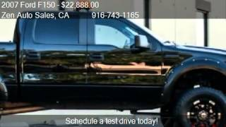 2007 Ford F150 XLT SuperCrew Lifted - for sale in Sacramento