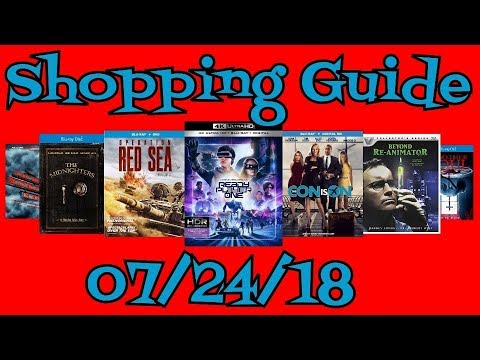 New Blu-Ray, DVD Shopping Guide For 7/24/18