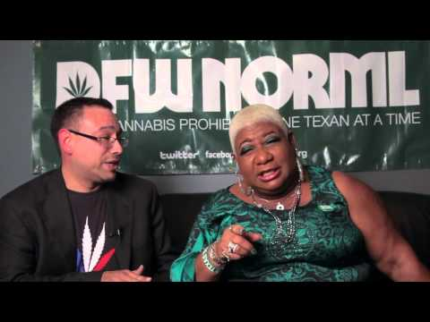 DFW NORML Interviews Comedian & Actress Luenell