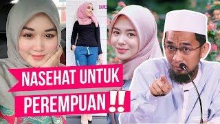 Video MERINDING! Pesan Ust. Adi Hidayat untuk Wanita - Ustadz Adi Hidayat LC MA MP3, 3GP, MP4, WEBM, AVI, FLV November 2018