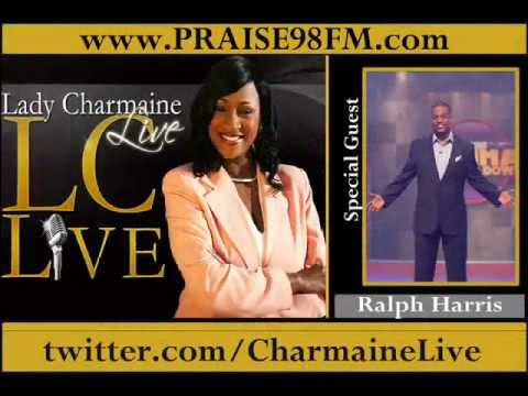 Host Ralph Harris (My Momma Throws Down) on Lady Charmaine Live