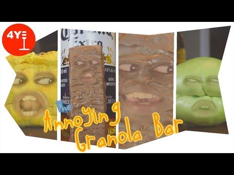 THE ANNOYING GRANOLA BAR