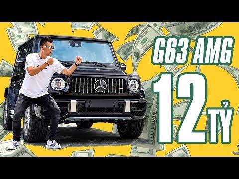 12 tỷ là giá của chiếc Mercedes G63 AMG 2019 tại Việt Nam có gì đáng tiền khác bác? @ vcloz.com