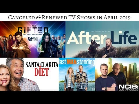 TV Shows cancelled & renewed in April 2019 #TVNews