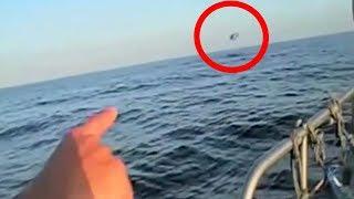Video 5 Mysterious UFOs Caught Entering The Sea! MP3, 3GP, MP4, WEBM, AVI, FLV Agustus 2018