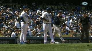 Rays pull off hidden-ball trick against the Dodgers