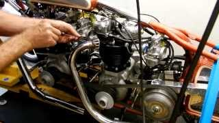 7. 'Double Vision' Dual Engine 1955 Triumph Land Speed Motorcycle Dyno Test