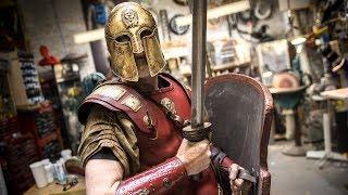 Adam Savage's New Thracian Warrior Armor!
