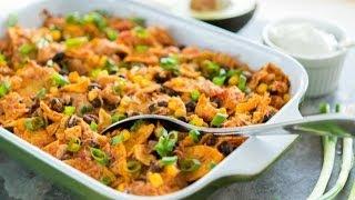 Tex Mex Chicken Casserole Recipe - Quick&Easy Dinner