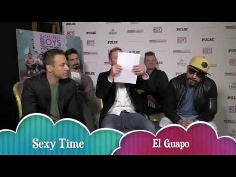 The Backstreet Boys take The Backstreet Boys Trivia Quiz