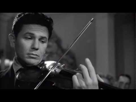 """Mustalainen"" On The Violin From ""Humoresque"" 1946"