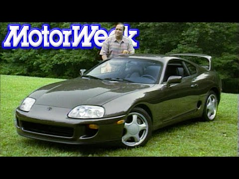 MotorWeek | Retro Review: '93 Toyota Supra Turbo