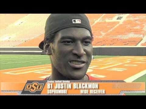 Justin Blackmon Interview 9/20/2010 video.