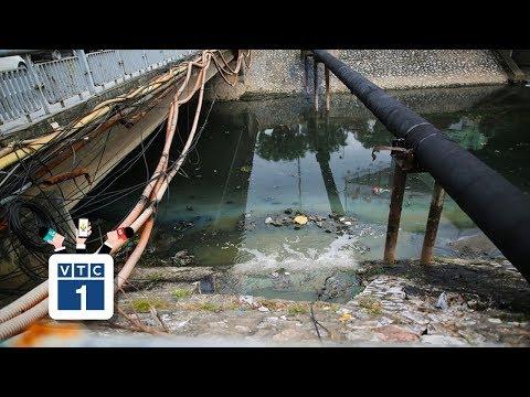 """Công nghệ Nhật """"hứa hẹn"""" làm sạch sông Tô Lịch - Thời lượng: 2 phút, 36 giây."""