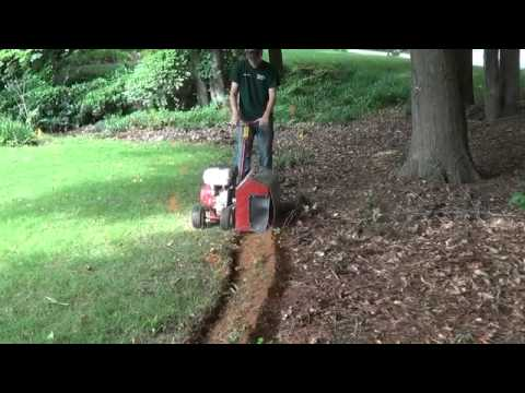 How to bed trench a yard (видео)