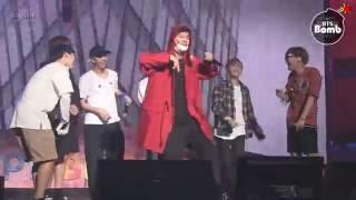Download Lagu [BANGTAN BOMB] V's Dream came true - 'His Cypher pt.3 Solo Stage' - BTS (방탄소년단) Mp3