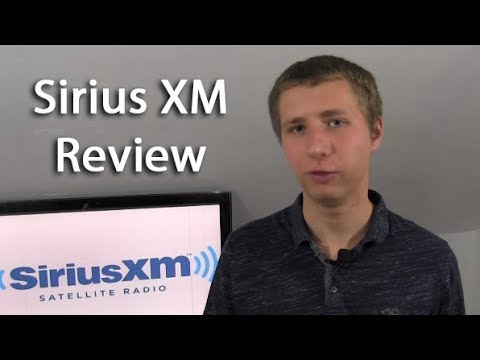 Sirius XM Satellite Radio Review