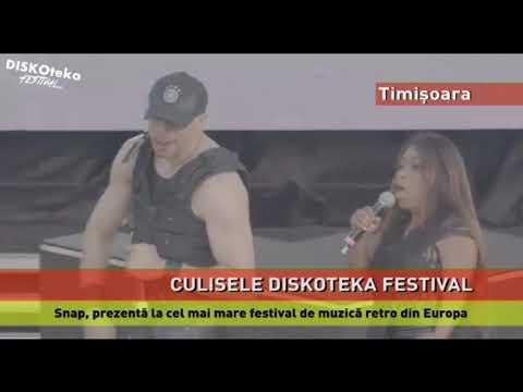 Snap, la cel mai mare festival de muzică retro din Europa, DISKOTEKA