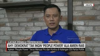"Video AHY: Demokrat Tak Ingin ""People Power"" Ala Amien Rais MP3, 3GP, MP4, WEBM, AVI, FLV Mei 2019"