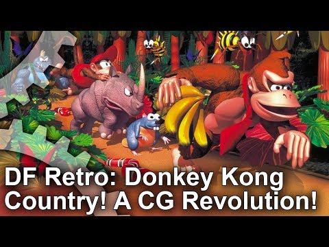 DF Retro: Donkey Kong Country + Killer Instinct - A 16-Bit CG Revolution! (видео)