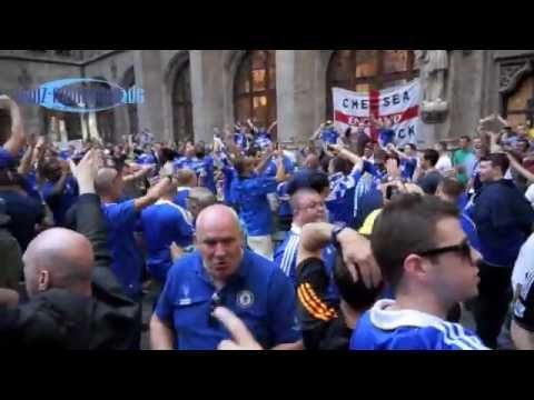 Chelsea FC Fans @ Munich pre-Champions League Party