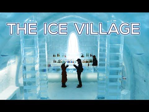Japan s Ice Village