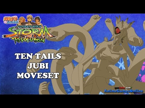 ten - The complete moveset for The Ten Tails (Jubi). He has other names like Datara and the One-Eyed God, but Ten Tails and Jubi are the most common. This is the true awakening for unmasked Obito...