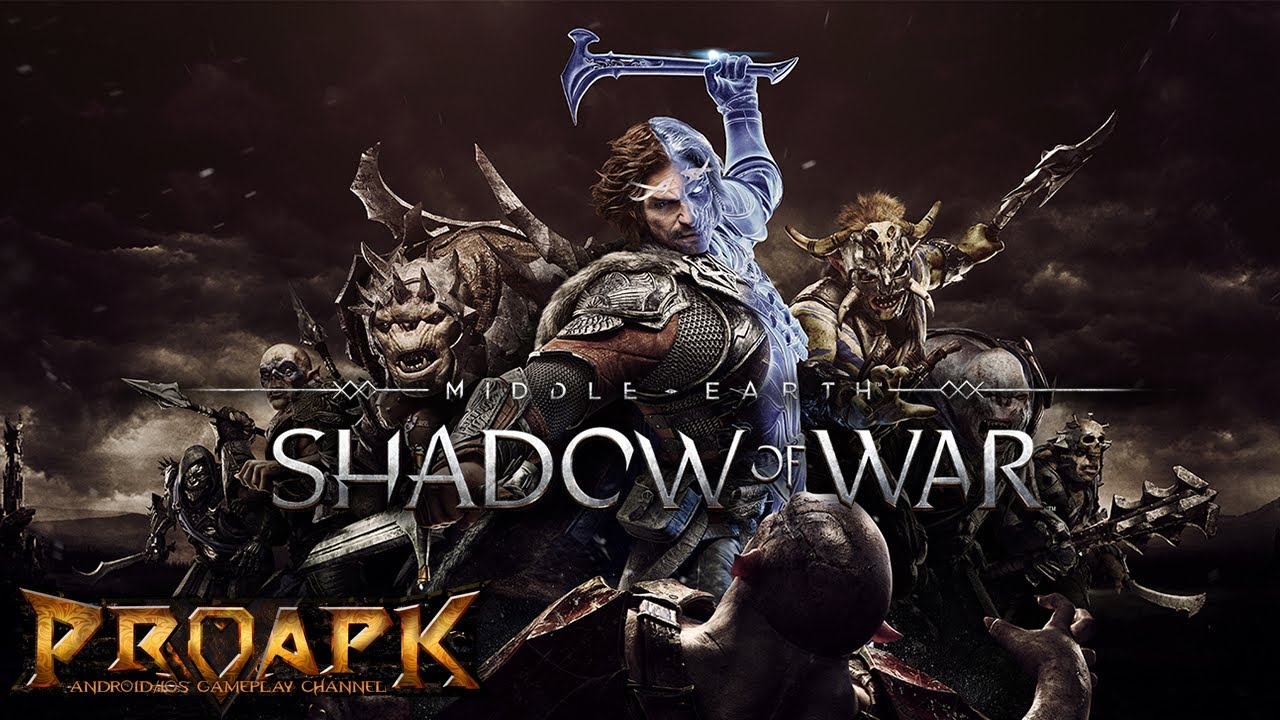 Middle-earth: Shadow of War By Warner Bros. (ANDROID/iOS/iphone/ipad) ►►► SUBSCRIBE PROAPK FOR MORE GAMES : http://goo.gl/dlfmS0 ◄◄◄ Certain that it will help overthrow Sauron and raise himself as a force for good in his place, Celebrimbor has forged a new ring of power. Alongside this new ring, he has forged a series of minor rings that are bound to its fate and call to Champions across Middle-earth; wage the Shadow War and overthrow Sauron's armies.  Continue Talion's journey through Mordor and wage real-time battles to turn Sauron's army against him with the Champions of Middle-earth and your own personal Orc army.  COMMAND ICONIC MIDDLE-EARTH CHAMPIONS -Collect, equip, and upgrade iconic Shadow of War and Lord of the Rings characters such as Talion, Gandalf, Gollum, and Galadriel, all controlled