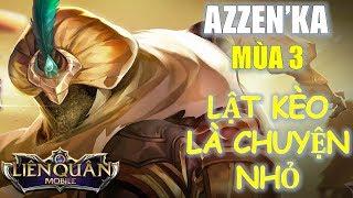 Bị giảm sức mạnh nhưng Azzen'Ka vẫn rất mạnh với cách lên đồ mới này! Liên quân Mobile MOBA Việt LINK DONATE:...