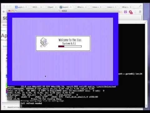 Apple IIgs Emulation and GSOS Installation