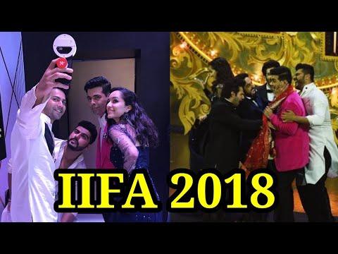IIFA Rocks 2018 :Varun Dhawan Bobby Deol, shraddha
