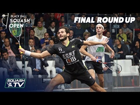 Squash: CIB Black Ball Open 2018 - Final Roundup