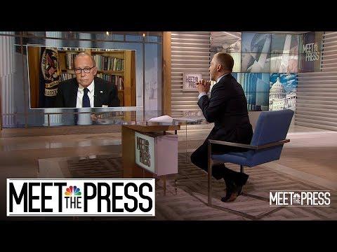 Sunday Talks: Larry Kudlow -vs- Chuck Todd…