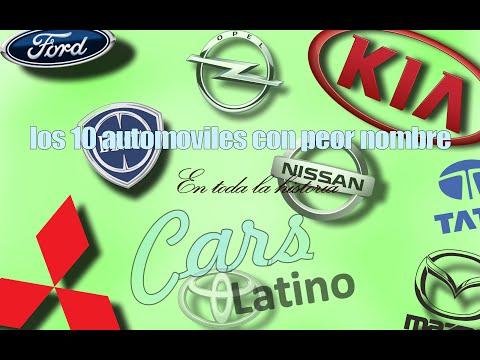 Los 10 Automóviles con Peor Nombre en Toda la Historia *CarsLatino*