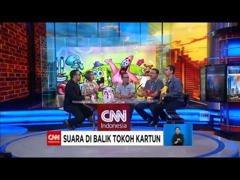 Ada Spongebob, Donald Bebek, Mr. Crab di CNN Indonesia!